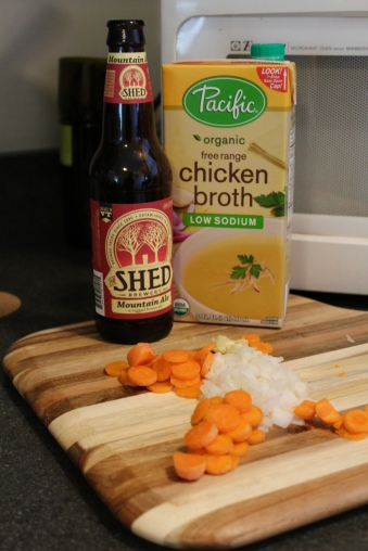 Most Important Ingredients; Beer and Broth.